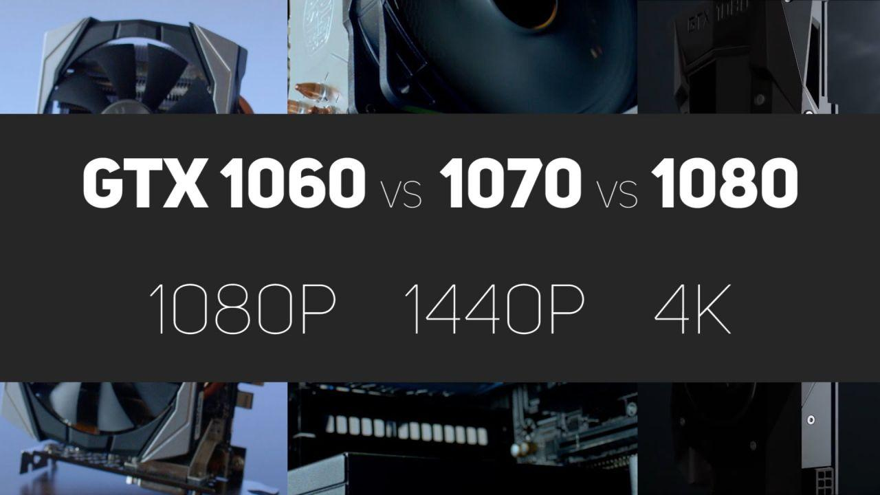 GTX 1060 vs 1070 vs 1080 Benchmarks (ft. Zotac amp! Edition)