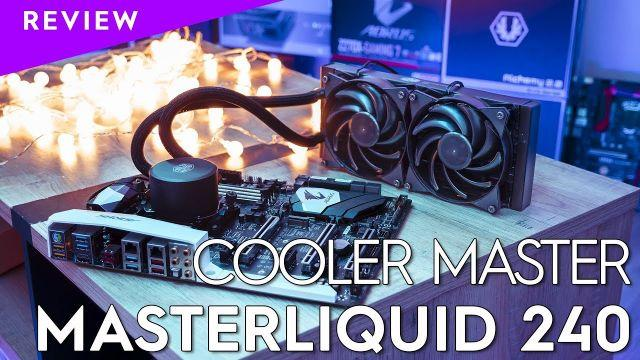 [REVIEW] Cooler Master MasterLiquid 240 - TopAchat
