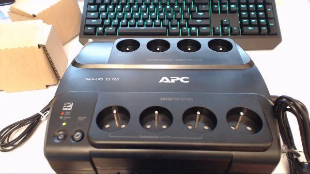 unboxing APC Back-UPS ES, 700VA