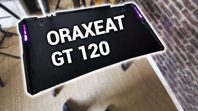 Oraxeat GT120 : le bureau de gamer qui va vous faire rêver !
