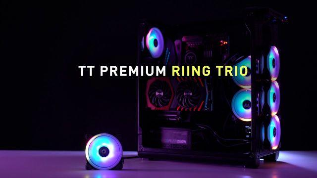 Riing Trio 12 RGB LED Radiator Fan - Because We can