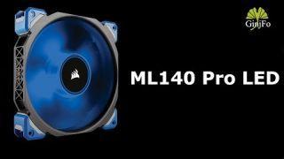 Ventilateur Corsair ML140 Pro LED - Présentation - GinjFo.com
