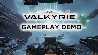 EVE: Valkyrie Gameplay Demo - Oculus Rift E3 2015 Press Conference