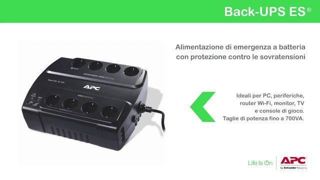 APC by Schneider Electric Back-UPS ES 2016