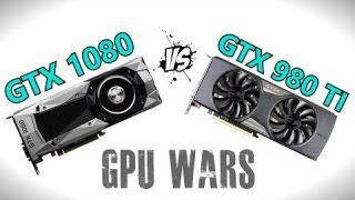 GTX 1080 vs GTX 980 TI - Gaming Benchmarks
