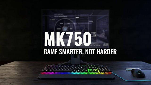 The MasterKeys MK750 Mechanical Gaming Keyboard