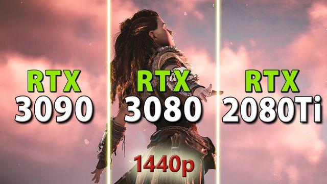 RTX 3090 vs RTX 3080 vs RTX 2080 Ti // 1440p