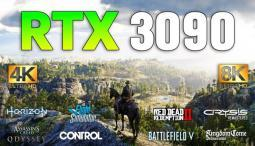 GeForce RTX 3090 Test in 4K and 8K