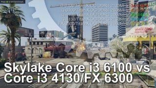 Intel Core i3 6100 vs AMD FX-6300 vs Core i3 4130 CPU Gaming Benchmarks
