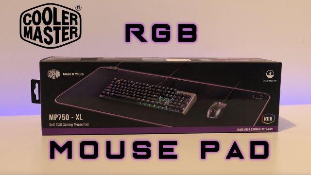 RGB Mousepad - CoolerMaster MP750 XL