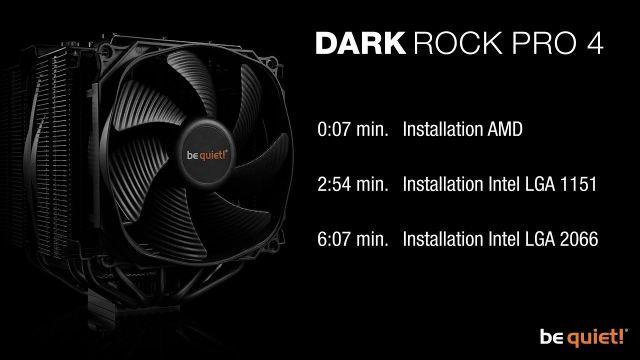 Installation: Dark Rock Pro 4 (AMD & Intel) | be quiet!