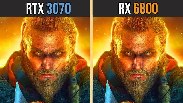 NVIDIA RTX 3070 vs AMD RX 6800 | Test in 8 Games
