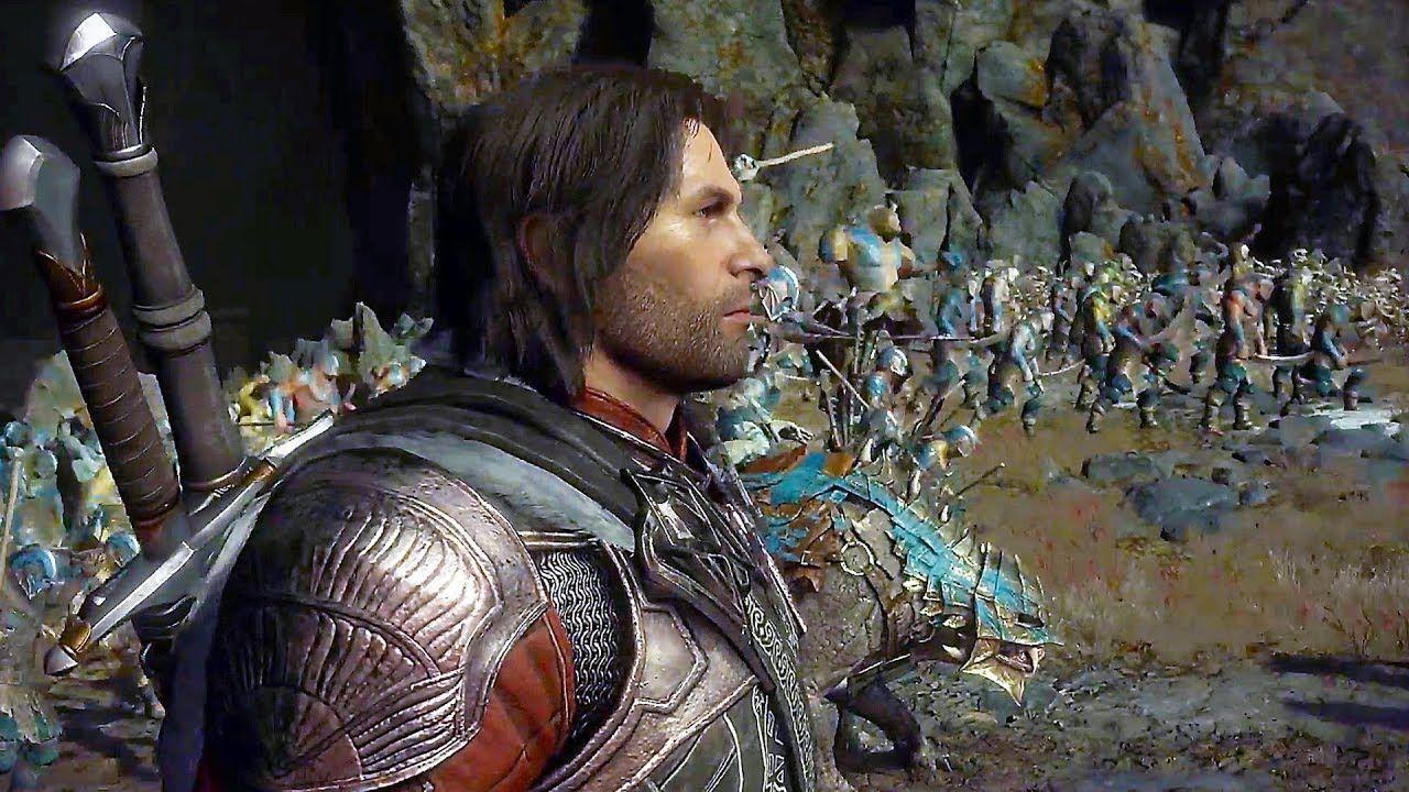 Shadow of War - NEW Gameplay The Cirith Ungol Region (Open-World)