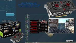 ASUS Direct CUII STRIX GTX 960 Overclocking Tutorial Using GPU Tweak