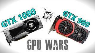 GTX 1080 vs MSI GTX 980 - Gaming Benchmarks