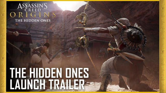 Assassin's Creed Origins: The Hidden Ones DLC - Story Expansion | Launch Trailer | Ubisoft [US]