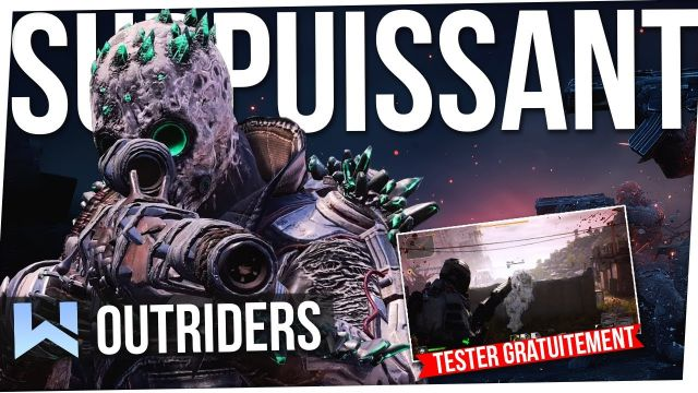 OUTRIDERS : La CLASSE la PLUS OP ?! Technomage