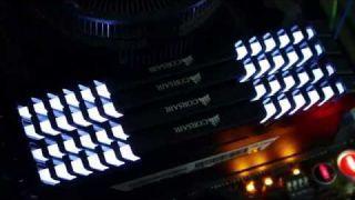 CORSAIR VENGEANCE LED DDR4-3466MHz燈光影片