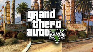 GTA V   4K Graphics Comparison   PC / PS4 / PS3