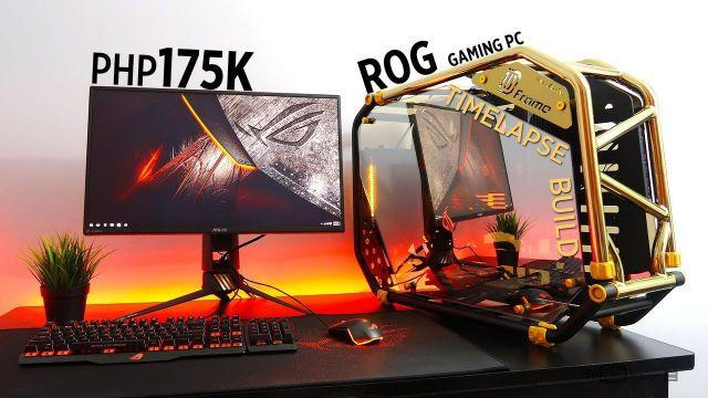 Php175K ASUS ROG Gaming PC Timelapse Build