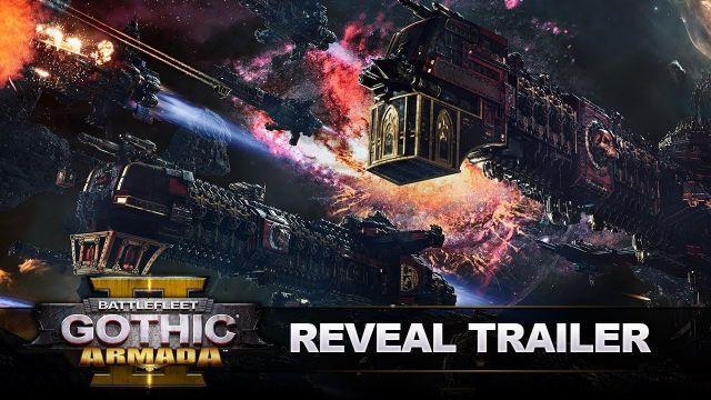 Battlefleet Gothic: Armada 2 : Reveal Trailer