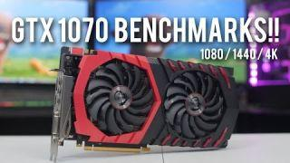 MSI GTX 1070 Gaming X: Benchmarks and Review