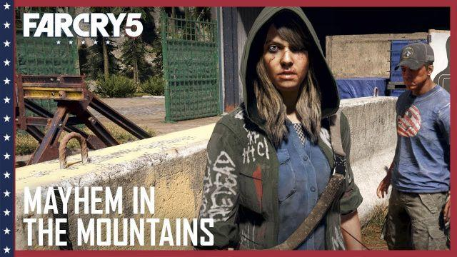 Far Cry 5: Mayhem in the Mountains Gameplay | UbiBlog | Ubisoft [US]