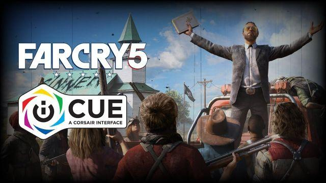 CORSAIR iCUE and FAR CRY 5 INTEGRATION