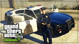 GTA 5 Mods - POLICE PATROL LSPDFR MOD! (GTA 5 COPS Gameplay)