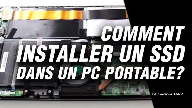 Atelier LDLC : comment installer un SSD dans un PC portable