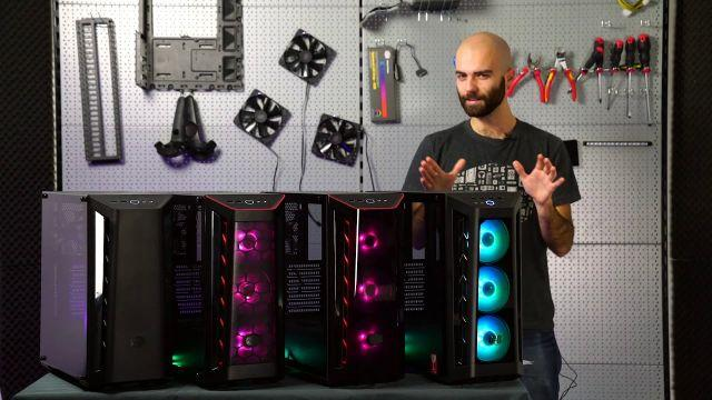 MasterBox MB510L, MB511, MB520, MB530P