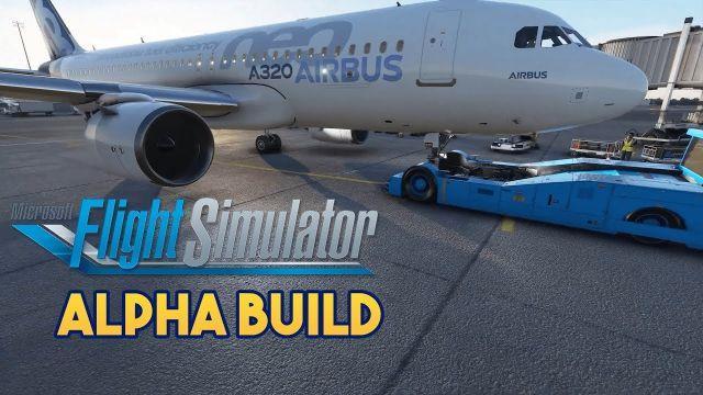 Microsoft Flight Simulator 2020 - ALPHA BUILD