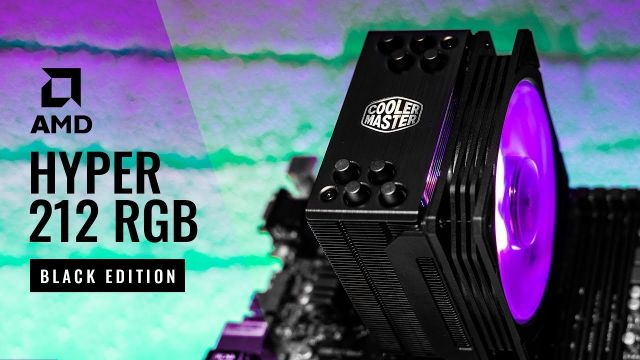 HOW TO Cooler Master Hyper 212 RGB Black Edition AM4 Install Guide