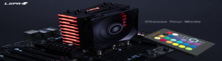 LEPA NEOllusion - World-leading RGB CPU Cooler
