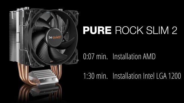 Installation: Pure Rock Slim 2 (AMD & Intel) | be quiet!