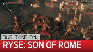 Ryse: Son of Rome PC gameplay — 1440p preview on LPC