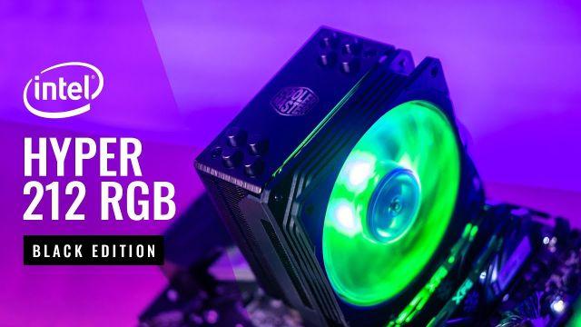 HOWTO Cooler Master Hyper 212 RGB Black Edition Intel (LGA 1200) Install Guide