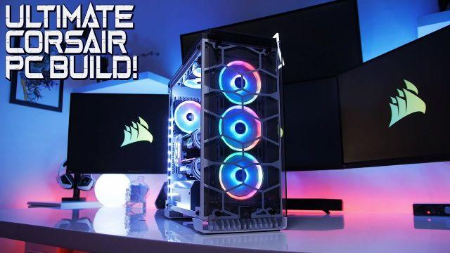 EPIC $4500 I7-8700K / MSI TRIO 1080 TI SLI PC Build (Time Lapse)