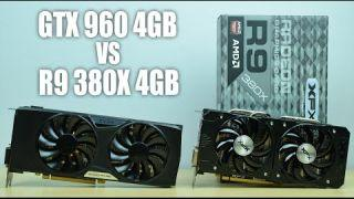 R9 380X 4GB VS GTX 960 FTW 4GB - GTA V / Fallout 4 / The Witcher 3 / AC: Syndicate Benchmarks