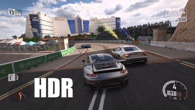 HDR Gameplay - Forza 7 - 4K 60FPS