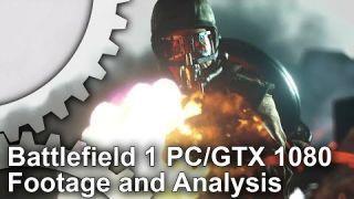 Battlefield 1 PC GTX 1080 1440p+ Gameplay Footage