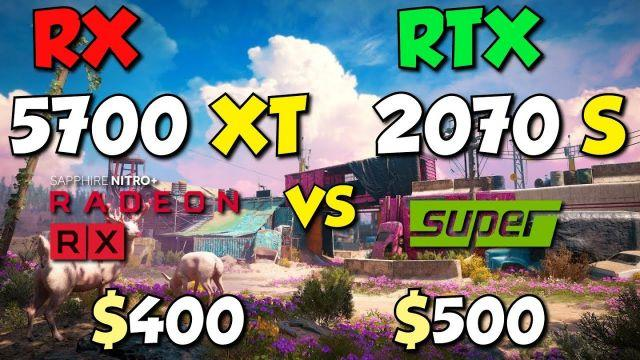 RX 5700 XT vs RTX 2070 Super. Test in 10 Games