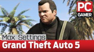 Grand Theft Auto 5 PC gameplay - max settings at 60fps