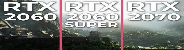 RTX 2060 SUPER vs. RTX 2060 & 2070 Performance Test | 5 games benchmark [promotion]