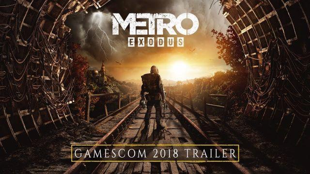 Metro Exodus - gamescom 2018 Trailer [FR]