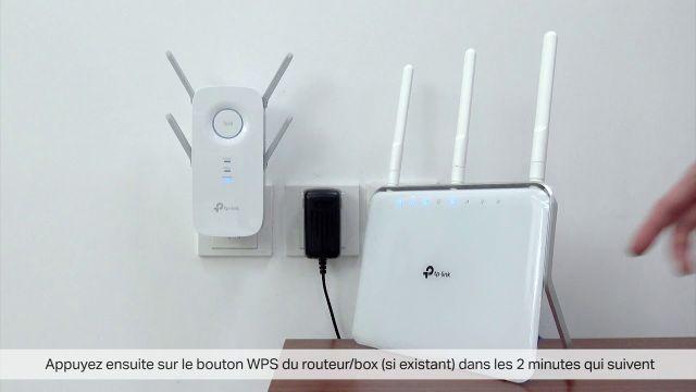 Comment installer un répéteur WiFi TP-Link RE650 / RE450 / RE350 / RE305 / RE200 via Bouton WPS