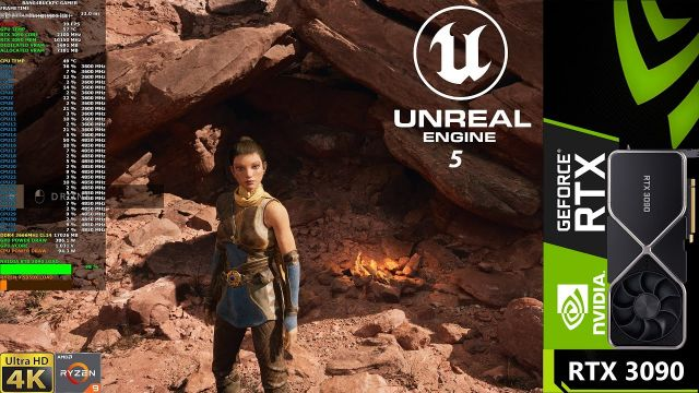 Unreal Engine 5 Valley Of The Ancient Demo 4K | RTX 3090 | Ryzen 9 5950X