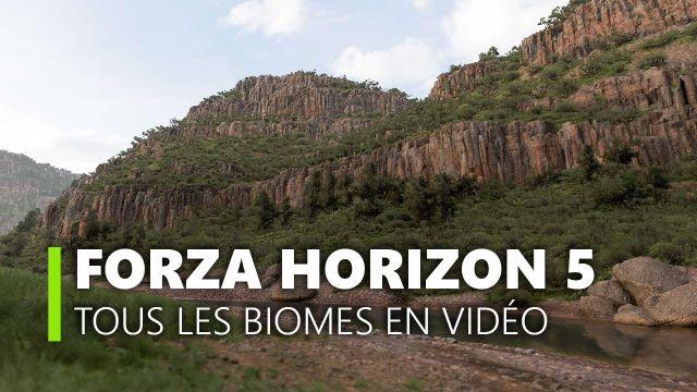 Forza Horizon 5 montre tous ses paysages en 4K !