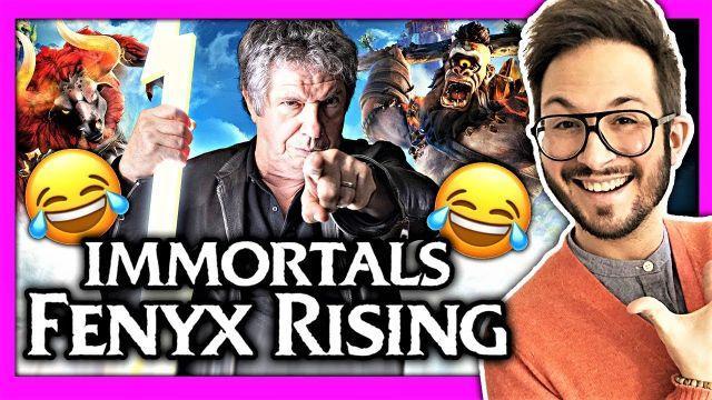 J'ai testé Immortals Fenyx Rising et je suis mort de rire ??? + Gameplay VF avec Lionnel Astier