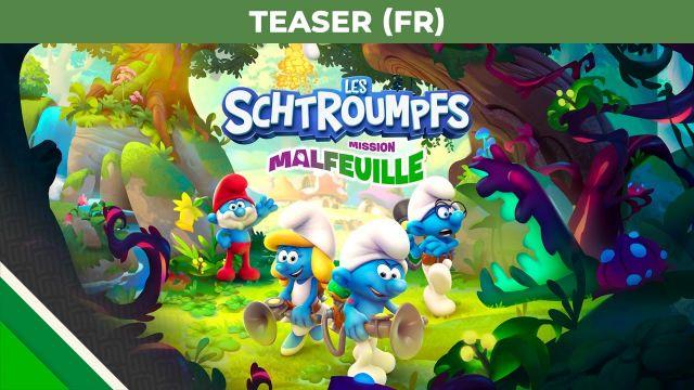 Les Schtroumpfs - Mission Malfeuille l Teaser FR l Microids & OSome Studio